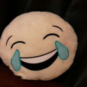 A emoji plush/pillow